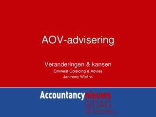 AOV-advisering