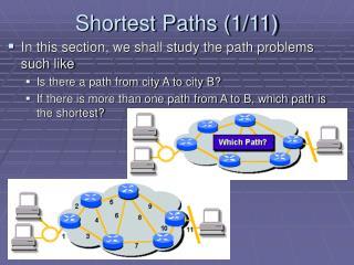 Shortest Paths (1/11)