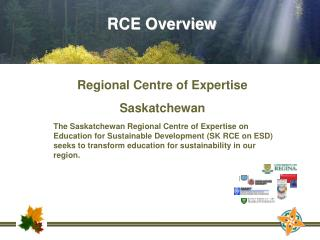 Regional Centre of Expertise Saskatchewan