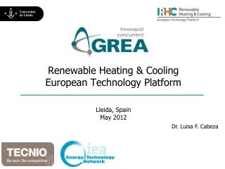 Renewable Heating & Cooling European Technology Platform