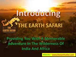 Book Your Kenya, Tanzania, Africa or India Safari Packeges