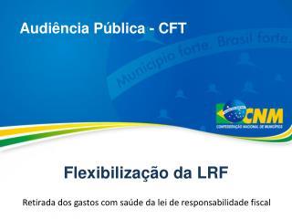 Flexibiliza��o da LRF