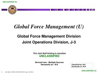 Global Force Management (U)
