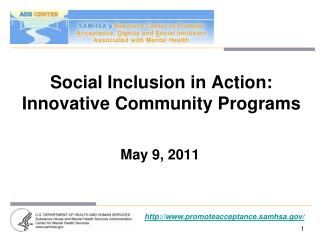 Social Inclusion in Action: Innovative Community Programs