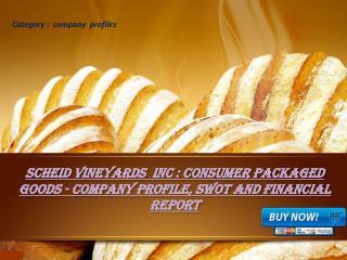 Aarkstore.com - Scheid Vineyards Inc