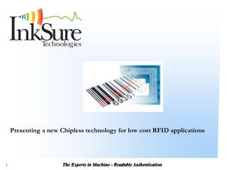 Presenting a new Chipless technology for low cost RFID applications