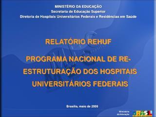 Minist�rio da  Educa��o