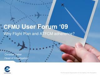 CFMU  User Forum '09