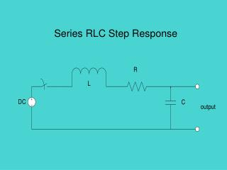 Series RLC Step Response