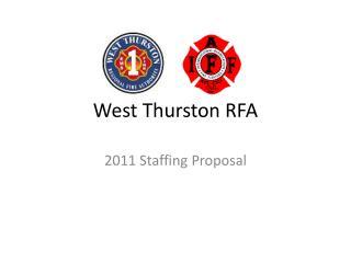 West Thurston RFA