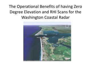 The need to optimize the radar for a coastal region with terrain