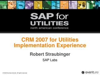 CRM 2007 for Utilities Implementation Experience