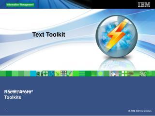 Text Toolkit