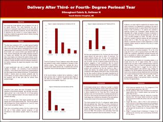 Delivery After Third- or Fourth- Degree Perineal Tear Dilmaghani-Tabriz D, Soliman N