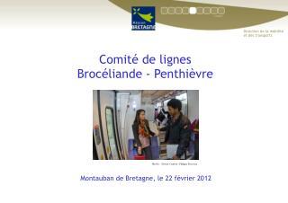 Comité de lignes  Brocéliande - Penthièvre