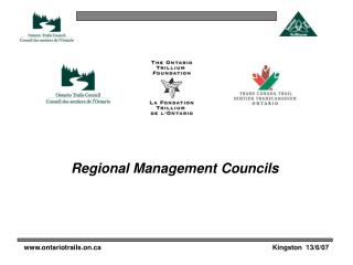 Regional Management Councils
