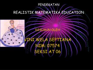PENDEKATAN REALISTIK MATEMATIKA EDUCATION