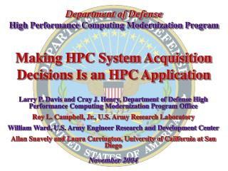 Making HPC System Acquisition Decisions Is an HPC Application