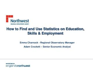 How to Find and Use Statistics on Education, Skills & Employment