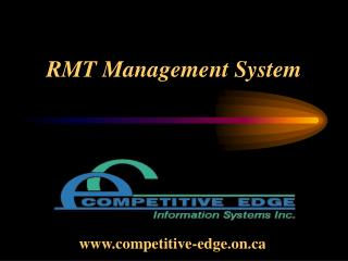 RMT Management System