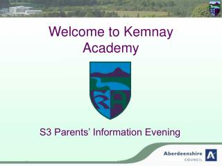 Welcome to Kemnay Academy