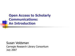 OPEN ACCESS USERS  PERSPECTIVE
