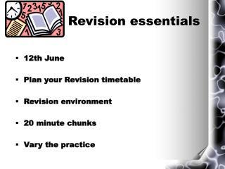 Revision essentials