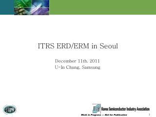 December 11th. 2011 U-In Chung, Samsung