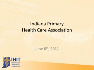 Indiana Primary  Health Care Association