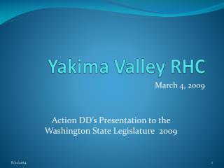 Yakima Valley RHC