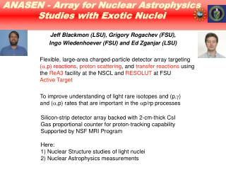 ANASEN - Array for Nuclear Astrophysics Studies with Exotic Nuclei