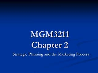 MGM3211 Chapter 2