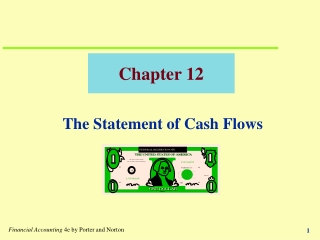 Chapter 14  Statement of Cash Flows
