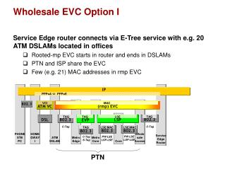 Wholesale EVC Option I
