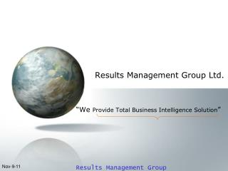 Results Management Group Ltd.