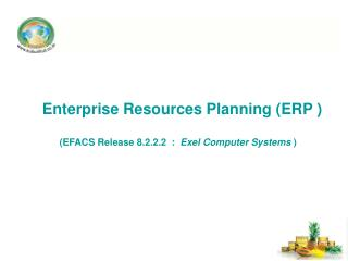 Enterprise Resources Planning  (ERP  )