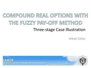 Three-stage Case Illustration