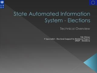 State Automated Information System - Elections