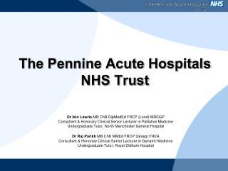 The Pennine Acute Hospitals NHS Trust