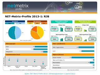 NET-Metrix-Profile 2013-1: RJB