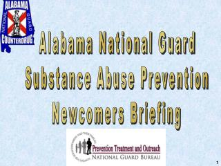 Alabama National Guard Substance Abuse Prevention Newcomers Briefing