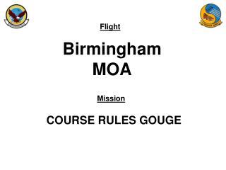 Birmingham MOA