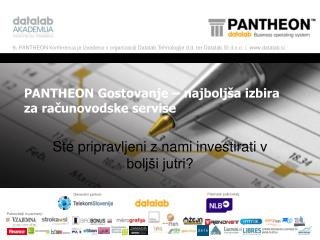 PANTHEON Gostovanje – najboljša izbira za računovodske servise