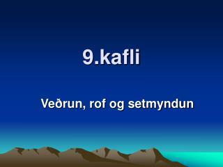 9.kafli