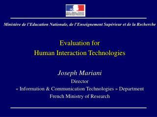 Ministère de l'Education Nationale, de l'Enseigneme nt Supérieur  et de la Recherche