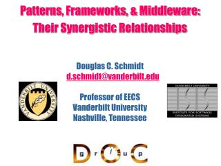 Patterns, Frameworks, & Middleware: Their Synergistic Relationships