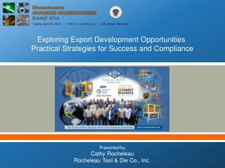 Exploring Export Development Opportunities   Practical Strategies for Success and Compliance