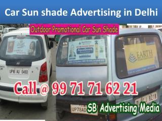 Car Banner Advertising in Delhi