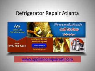Refrigerator Repair Atlanta
