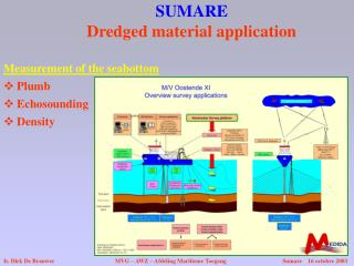 SUMARE Dredged material application